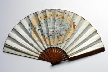 Exposition Universelle Paris 1867, éventail souvenir
