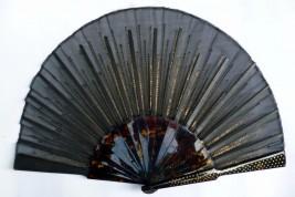 Black sunshine, armor fan, early 20th century