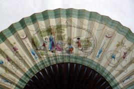The sheep shearing, a small giant fan circa 1785-90