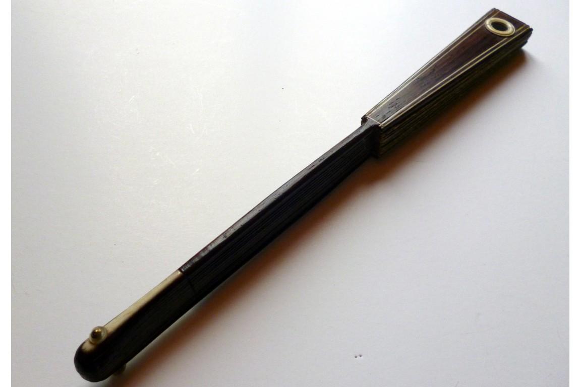 Éventail d'optique, vers 1780