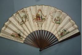 Les plaideurs, éventail de théatre début XIXème siècle