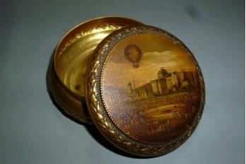 L'envol du ballon, boîte fin XIXème