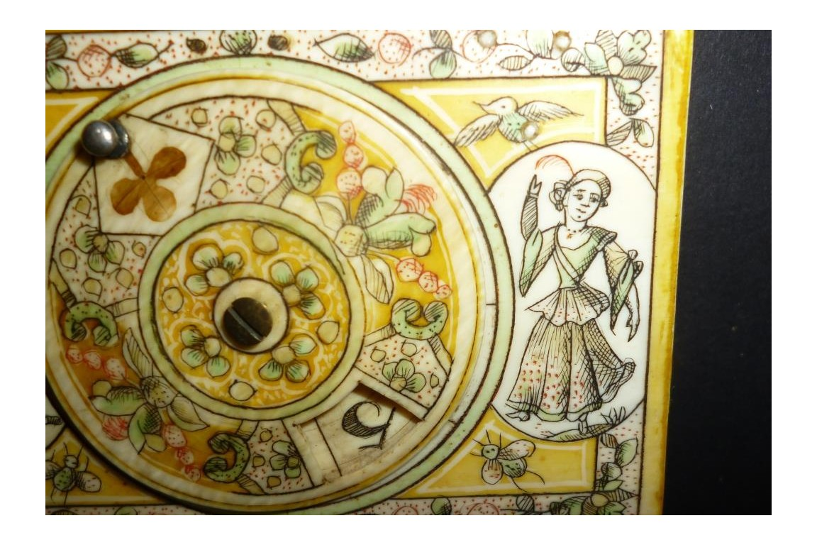 Boîte à jeu de Mariaval, XVIIIème siècle