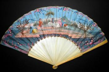 The most beautiful, fan circa 1750