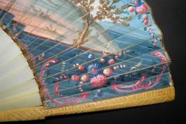 Pour être la plus belle, éventail vers 1750