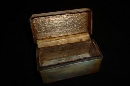 Lièvre et colombe, boite XVIIIème siècle