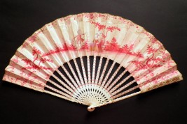 La couleur des sentiments, éventail vers 1770