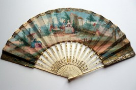 The doll, fan circa 1760-70
