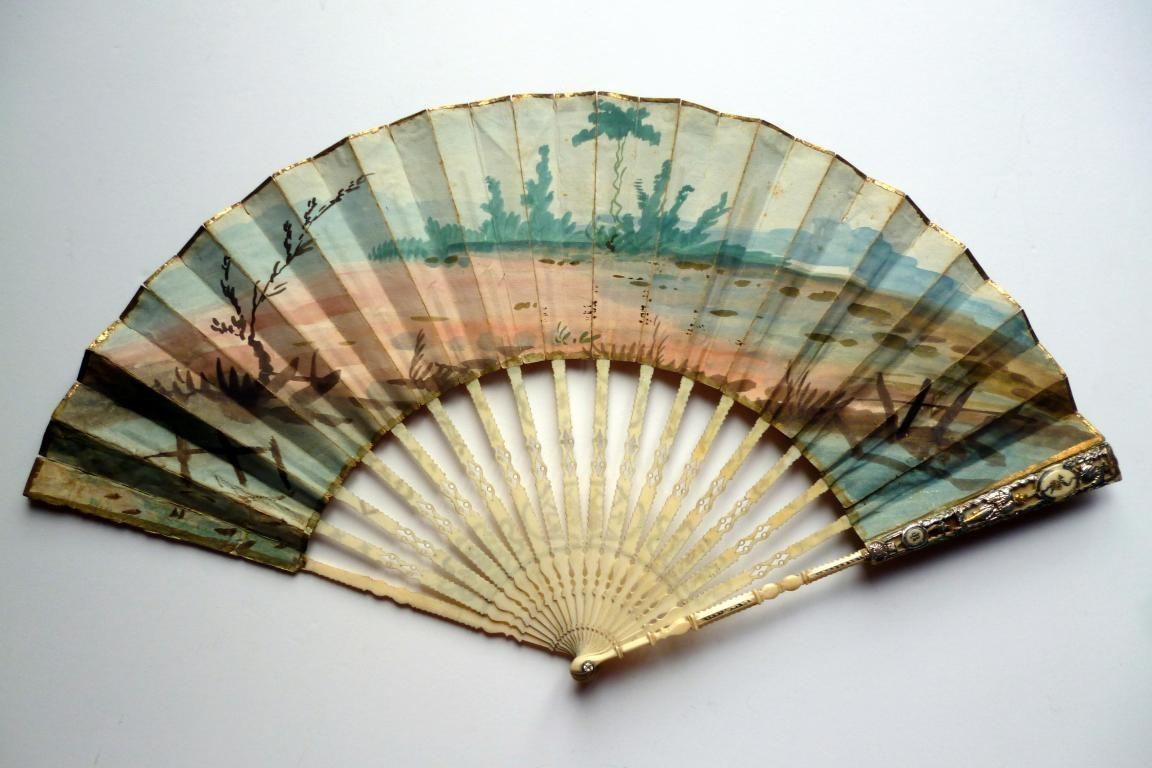 The doll, fan circa 1760-70
