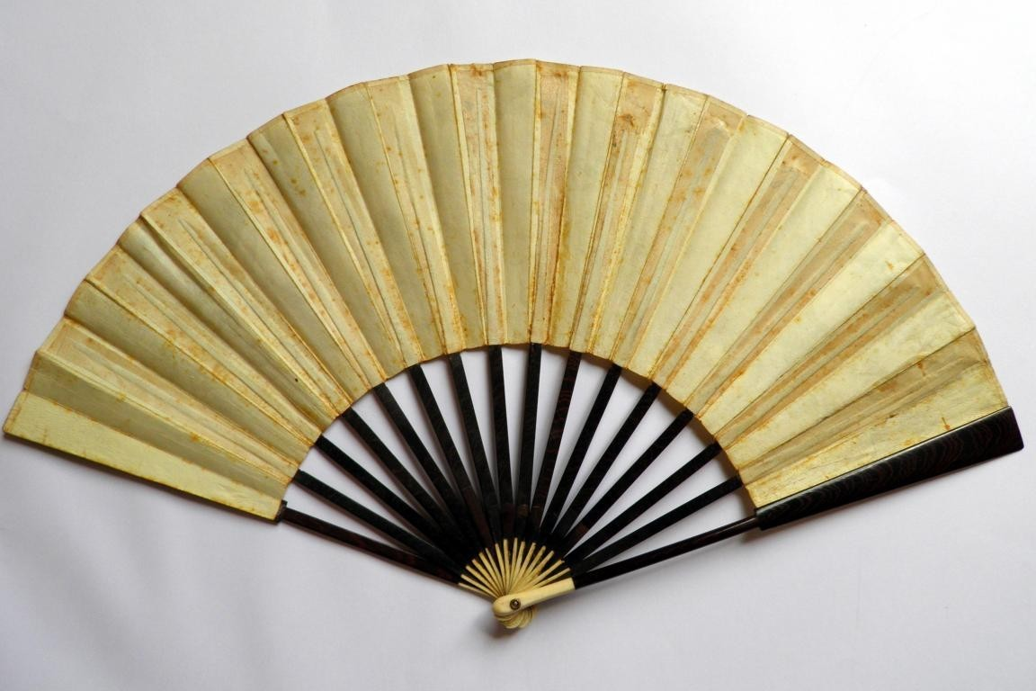 The Gypsies after Callot, late 18th century fan