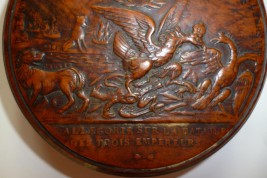 Battle of three Emperors, snuffbox First French Empir period
