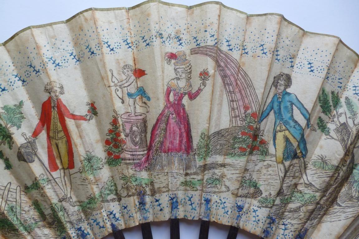 La rose, fan 1785-88