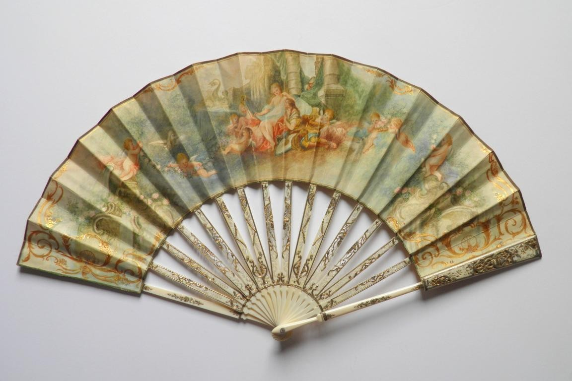 Loves of renaud and Armide, pastiche fan late 19th century