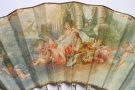 Les amours de Renaud et Armide, éventail pastiche fin XIXème