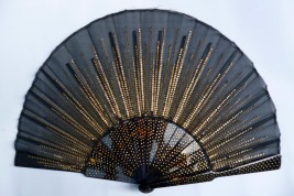 Black sunshine, armor fan, early 20th century