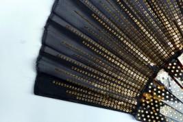 Soleil noir, eventail armure debut XXeme