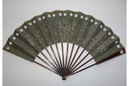 Optical fan, circa 1780