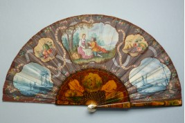 18th century style, fan circa 1900