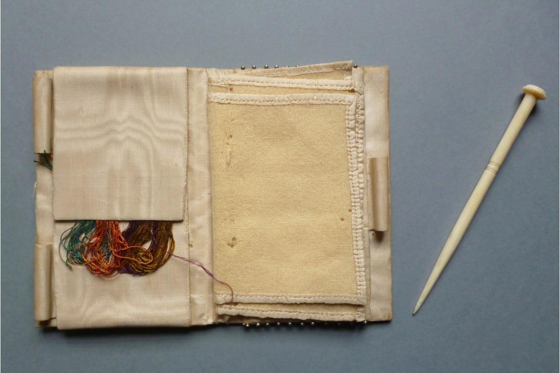Carnet à couture, fin XIXème siècle