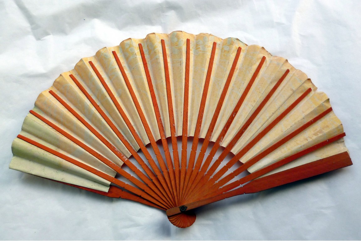 Au Bon Marché, a fan by Lopez