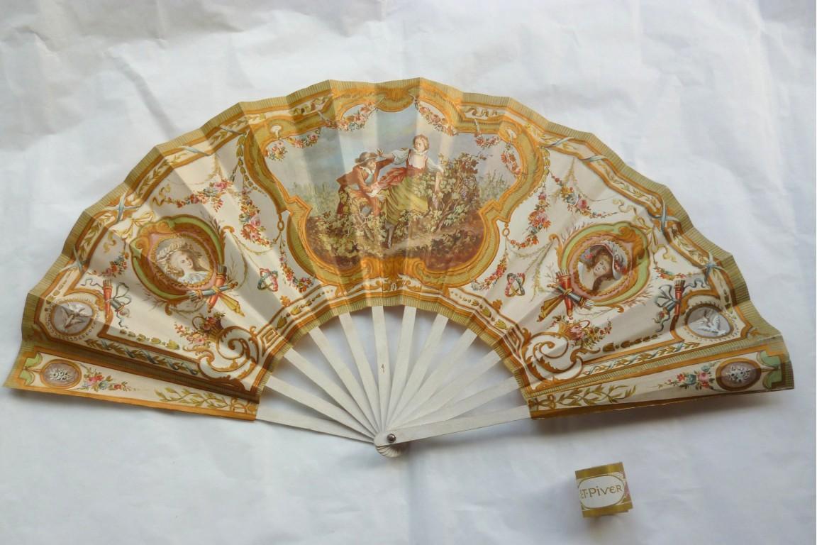 Piver, fan for the perfum Pompeia