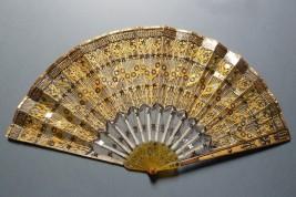 Empire doré, éventail vers 1805-10