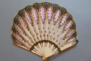 Art déco balloon, fan crca 1900-1920