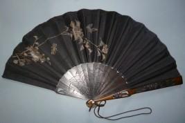 Japonisme, éventail fin XIXème