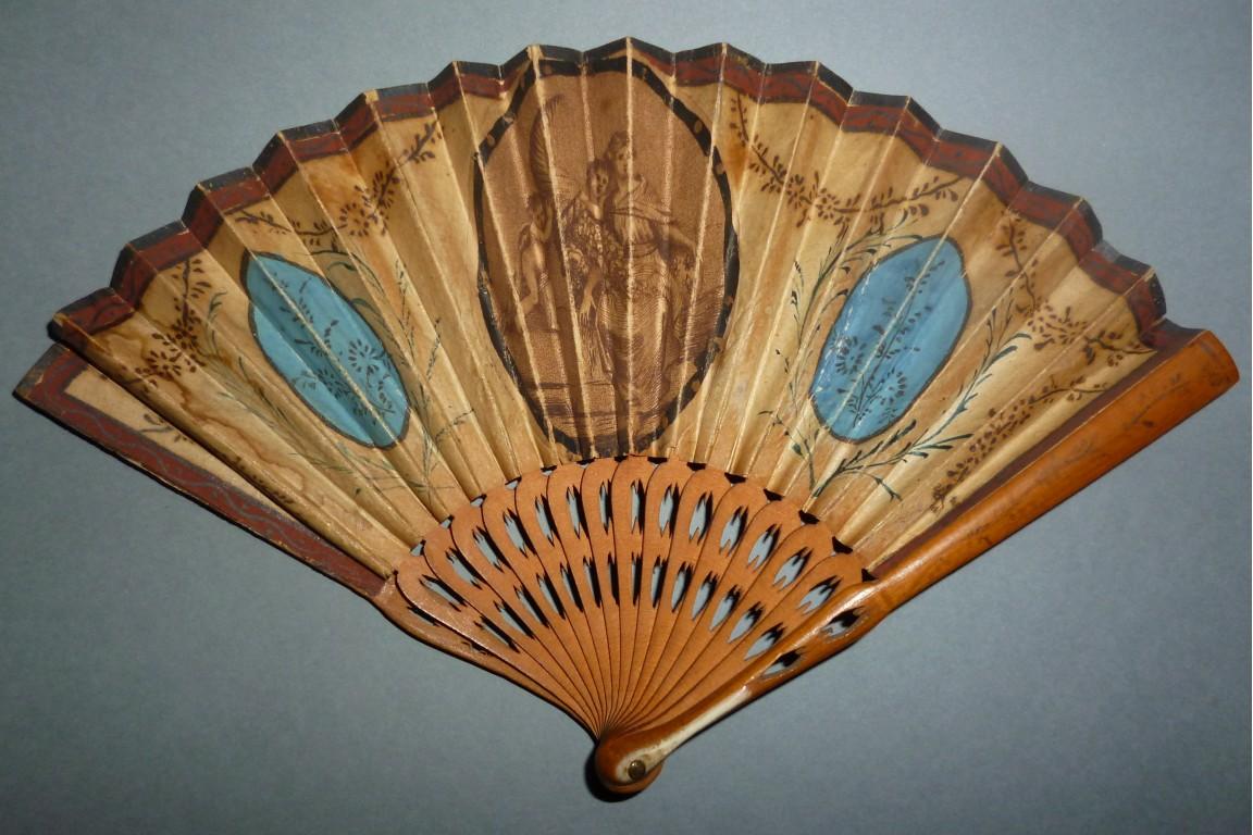 Wealth to France, miniature fan