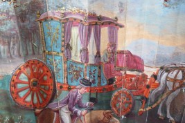 The horse race, Prix du Roy, fan circa 1781