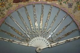 Concert galant, éventail vers 1770