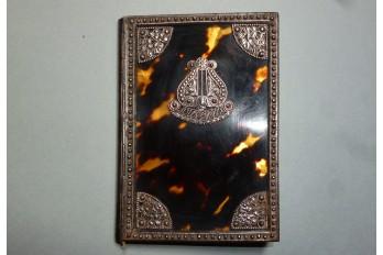 Lyre, Souvenirs notebook, circa 1820