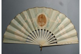 Maria Dorothea of Austria, royalist fan, circa 1890
