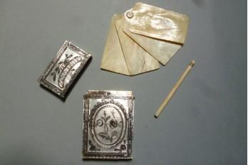 Souvenir d'amitié, case late 18th early 19th century