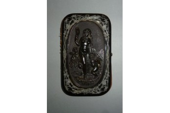 Venus on bath, box for glasses, period Napoleon III