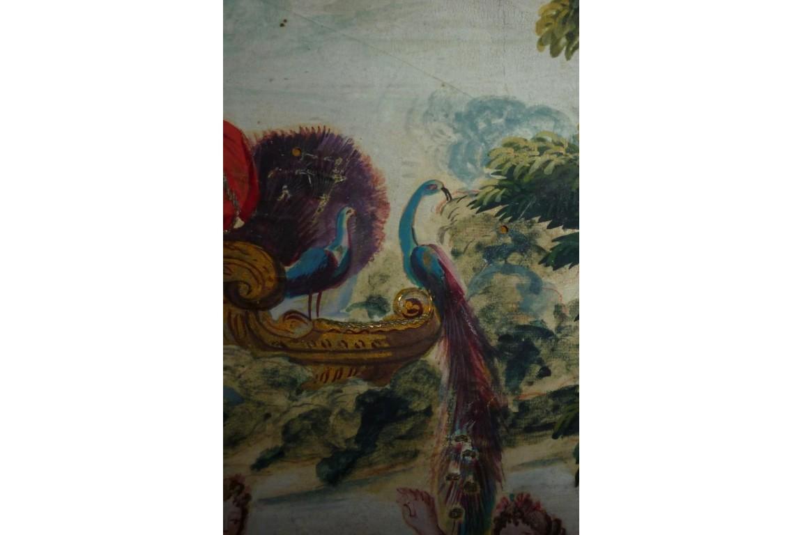 Offerings to Juno, fan leaf, 18th century