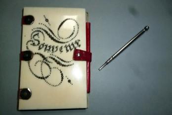 Souvenir, carnet de notes début XIXème siècle