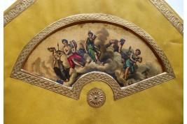 Les amours des dieux, écran à défilement vers 1840