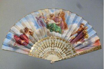 The summer of Ceres, fan middle 19th century