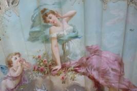 The secret of love, fan by Lasellaz, late 19th century