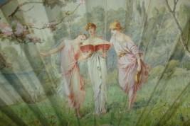 The Three Graces, fan of the Belle Époque