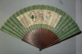 Les Petits Savoyards, giant theater fan, 1789