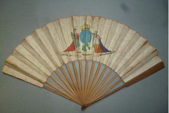 Three estates, French fan, circa 1789
