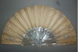 Courteous love of the Renaissance, fan circa 1860
