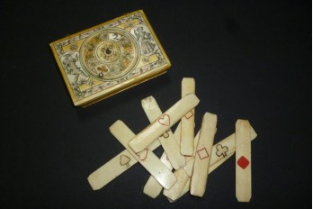 Game box, by Mariaval, 18th century