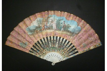 Judgement of Paris, fan circa 1740