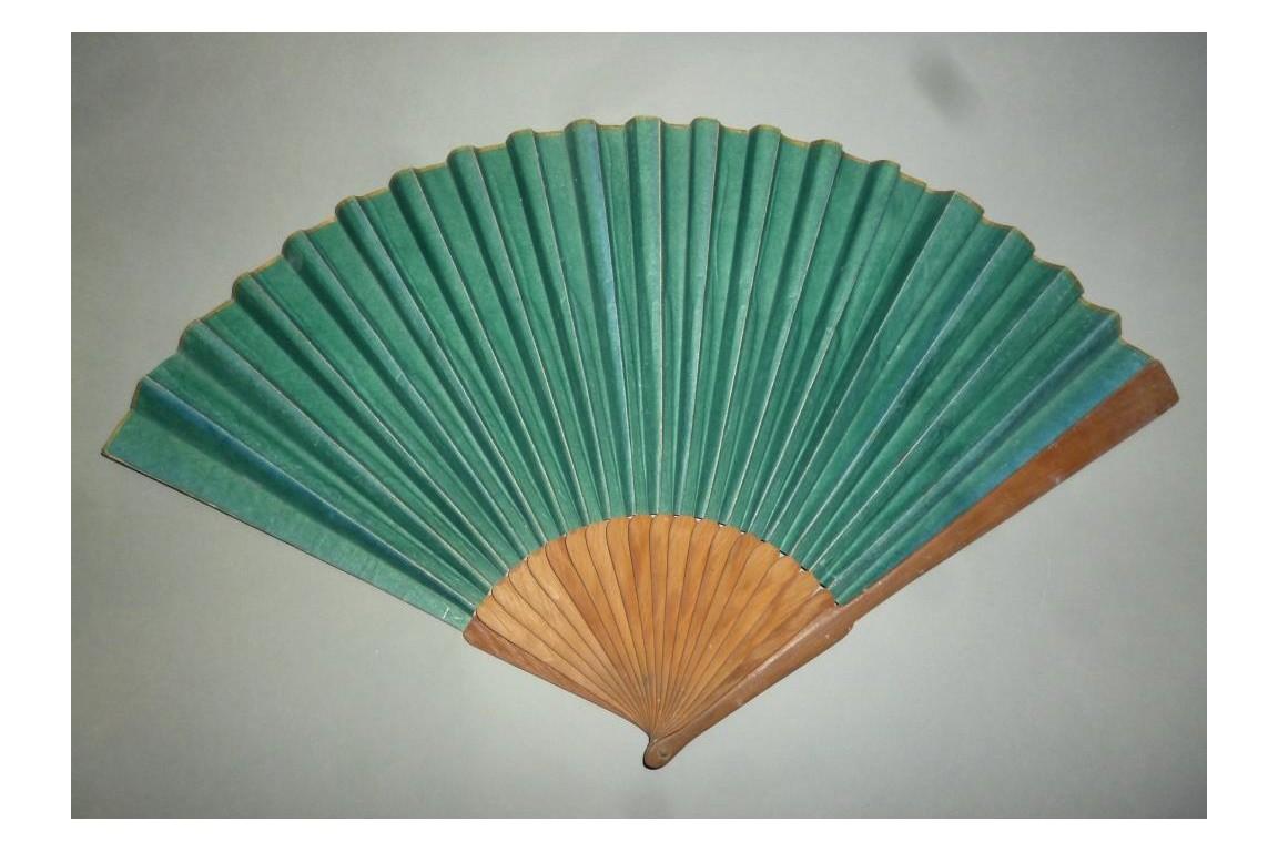 Fan for man, circa 1790-1800