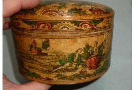 Arte Povera, boite à poudre, XVIIIeme siècle