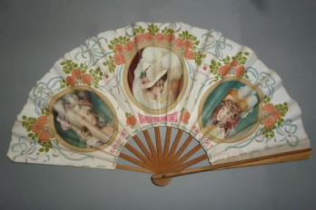 Cabaret du Rat Mort, advertising fan circa 1900-1910