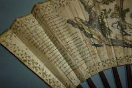 Le voleur converti, éventail fait divers, 1788